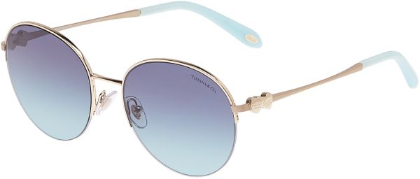 a727b11ddaa Tiffany   Co Oval Women s Sunglasses - TF3053-60219S-56 - 56-18 ...