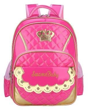 a57594c929e6 Cute style school backpack - suitable for girls - pink