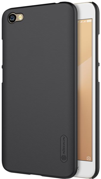 XIAOMI RedMi Y1 ( Note 5A ) Nillkin Super Frosted Shield case cover with  screen protection film Black