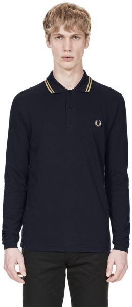 fcc2eaae3 Fred Perry Polos For Men - Navy