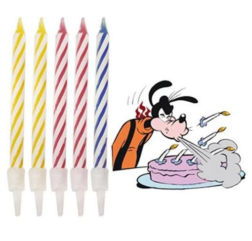 Unisex Magic Relighting Birthday Cake Relight Party Candles Gag Prank AccessoriesWG010