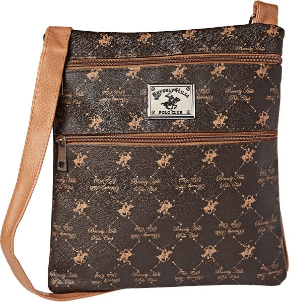 352c3fb379 Beverly Hills Polo Club Crossbody Bag for Women - Brown Price in ...