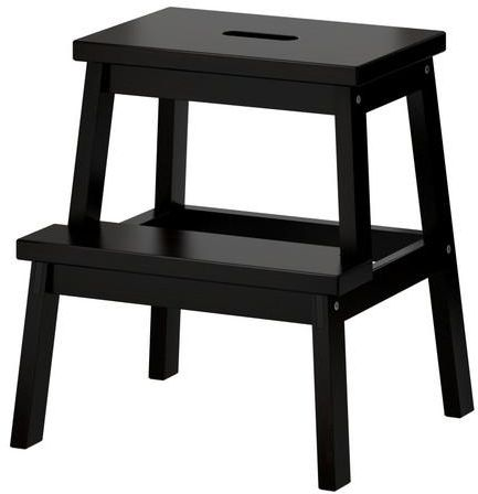 Fabulous Bekvam Step Stool Black Gmtry Best Dining Table And Chair Ideas Images Gmtryco