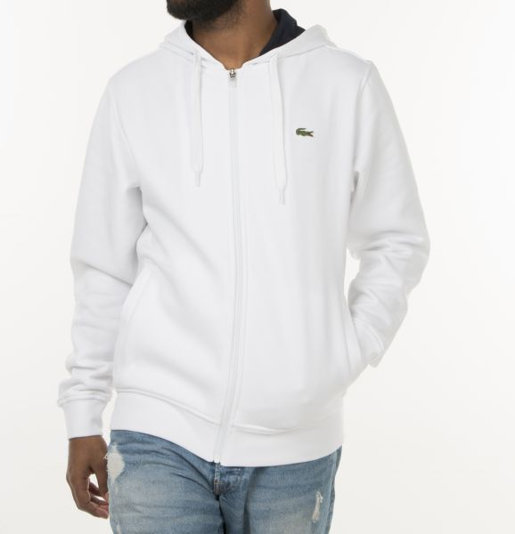 Lacoste Hoodie MenSize White 522 Sh7609 For Xl nwvm0N8