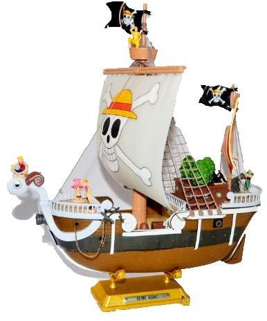 bd211996cb02 Pirate Ship Mini Model Toys For Children