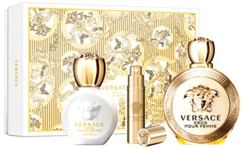 5d62a9ad0 سعر Eros Gift Set by Versace for Women - Eau de Parfum, 3 Pieces فى ...