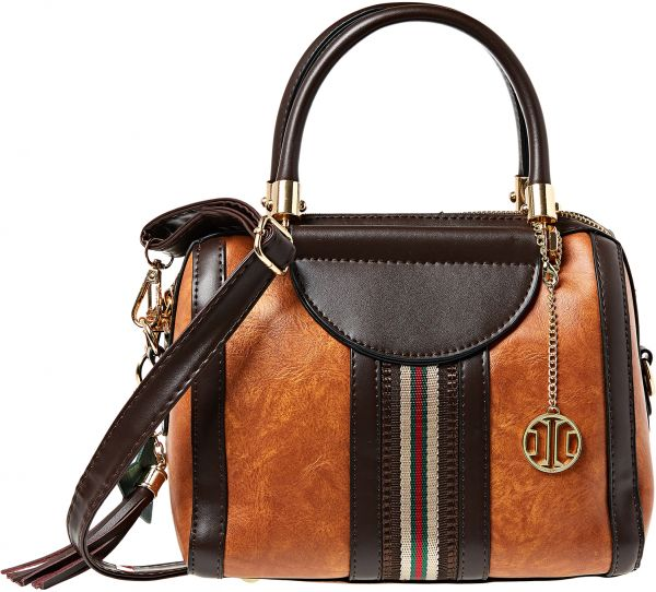 Inoui Satchel Bag For Women Camel