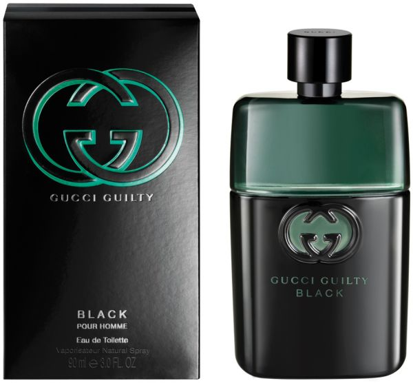Gucci Guilty Black Pour Homme by Gucci for Men , Eau de Toilette, 90ml