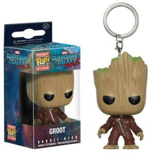 Action Figures Active Funko Pop Marvel Guardians Of The Galaxy 202 Groot Bobble-head Vinyl Figure Durable In Use