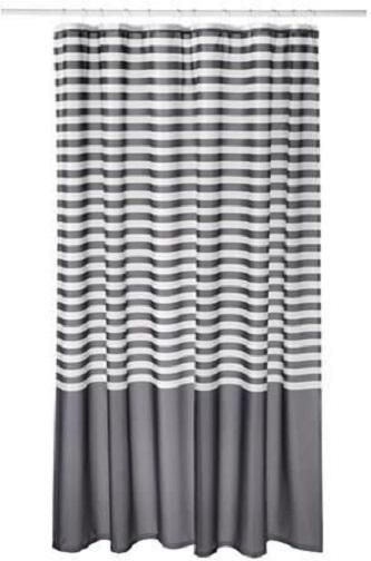 Polyester Stripe Pattern, Multi Color   Shower Curtains