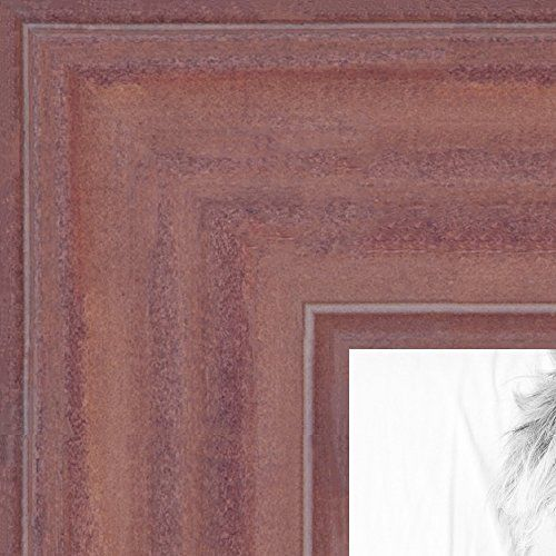 Picture Frame Deep Periwinkle Barnwood Frame 15 Wide 11 X 15