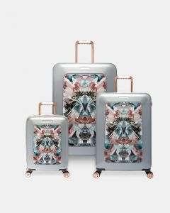cheap for discount discount sale where can i buy Ted Baker Mirrored Minerals Suitcase - Set of 3 (Mid Grey) : Buy ...
