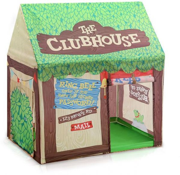 Green tree house portable peincess castle play tent with mat activity fairy house fun indoor outdoor playhouse toy  sc 1 st  Souq.com & Green tree house portable peincess castle play tent with mat ...
