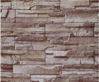 3d Brick Wallpaper Kitchen Decor Restaurant Waterproof Wallpapers Brown