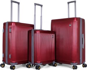 3bbf6daa80cf Titan Luggage Trolley Bags Set