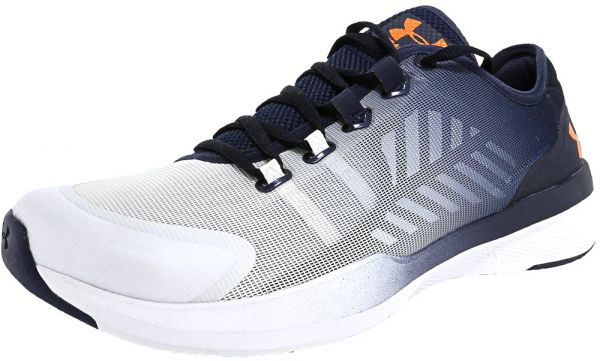 bcb2aa5b5ce Under Armour Tm Charged Push Tr Seg Running Shoes for Women - White ...