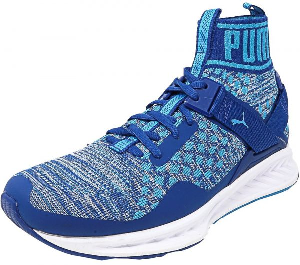 e1fc5dcbc6d Puma Ignite Evoknit Basketball Shoes for Men - Blue