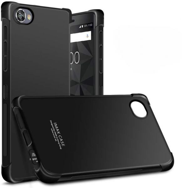 size 40 1d002 85177 BlackBerry Motion Shockproof Soft Case Cover With Screen Protector Black