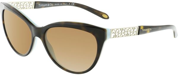 a01f2f93c12 Tiffany   Co. Cat eye Women s Sunglasses - TF4126B-80014U-57 - 57-15 ...