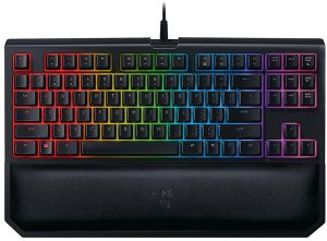 ead9f4bb0e0 Razer BlackWidow Tournament Edition Chroma V2 - RGB Ergonomic Mechanical  Gaming Keyboard - Tactile & Clicky Razer Green Switches