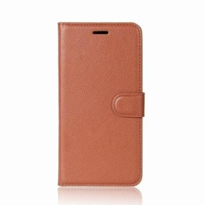official photos f6662 bb6c2 PU Leather Full Cover Wallet Premium Phone Case by Shaf for OnePlus 5T - TAN