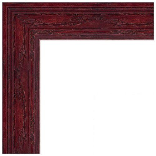 Souq | Picture Frame Off White Stain on Solid Wood .. 1.5\'\' wide 8 x ...