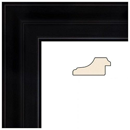 Picture Frame Black Matte Reverse .. 1.875\'\' wide 6 x 18\