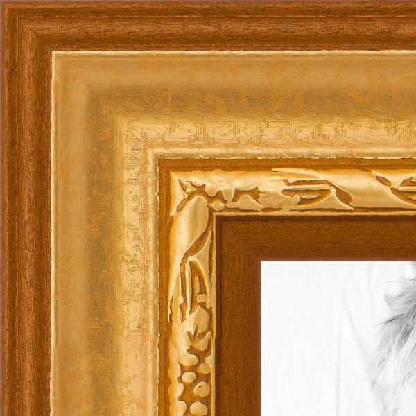 Souq Picture Frame Bella Champagne 15 Wide 8 X 13 Gold