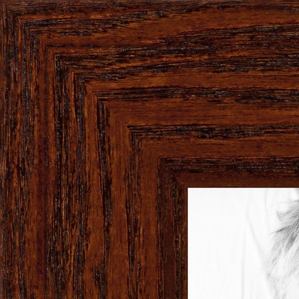 Picture Frame Black Stain on Pine .. 1.5\'\' wide 10 x 10\