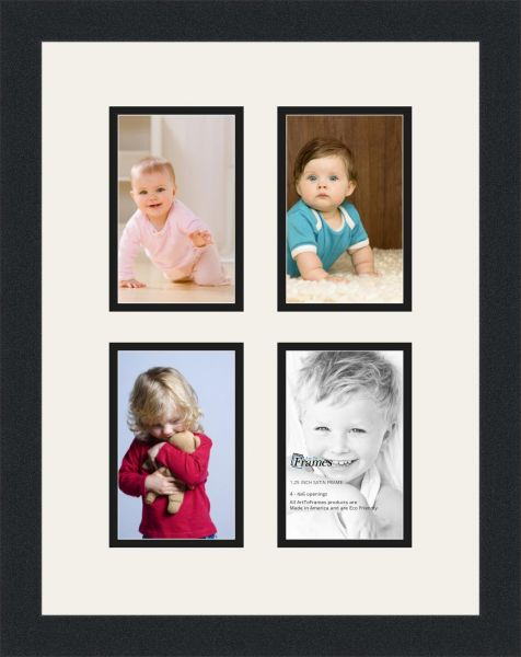 Arttoframes Alphabet Photography Picture Frame With 4 4x6 Openings