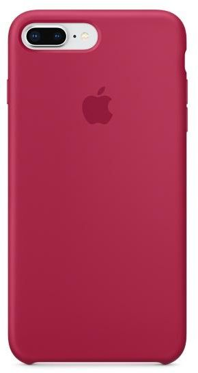 reputable site 5d316 635dd Apple Silicone case for iPhone 8 Plus / 7 Plus - Rose Red