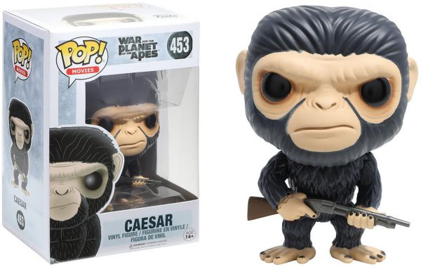 POP Movies War for the Planet of the Apes Caesar Action Figure FunKo Free Ship