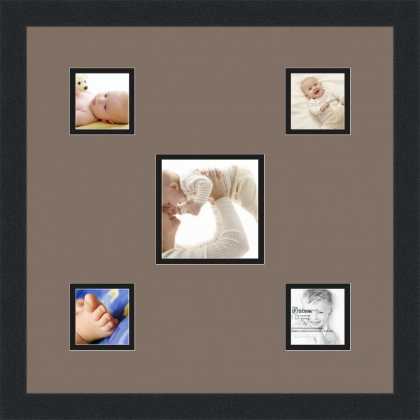 ArtToFrames Alphabet Photography Picture Frame with 1 - 5x5