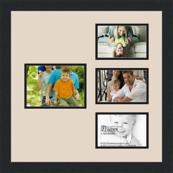 Arttoframes Alphabet Photography Picture Frame With 1 4x6 And 3