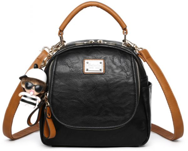 65a40bcf843 Fashion trend women soft leather shoulders bag College Wind leisure ...