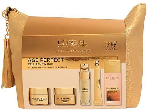 Buy L'oreal Paris Age Perfect Cell Renew Bag in UAE