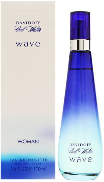 Cool Water Wave By Davidoff For Women Eau De Toilette 100ml Ksa