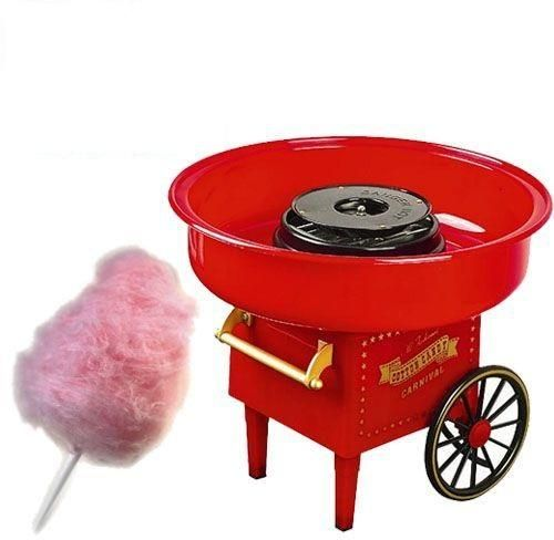 Cotton Candy Machine Maker Vintage Retro Carnival Kids Hard