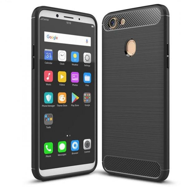 Souq oppo f5 case carbon fiber brushed soft tpu shockproof cover 5900 egp stopboris Gallery