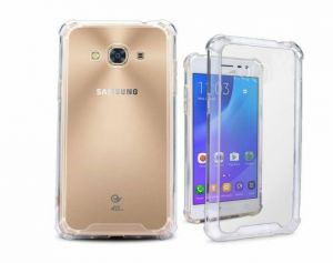 Galaxy A7 Case, Galaxy A7 Clear Case, Silverback Premium Shock Absorption TPU Bumper Cushion - Scratch Resistant Clear Protective Cases Hard Cover for ...