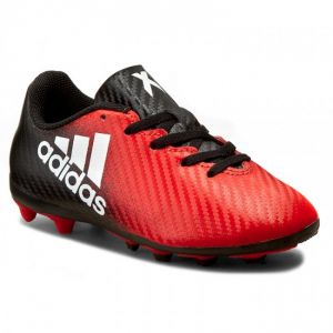 Adidas X 16.4 Fxg Football Shoes For Boys - Red