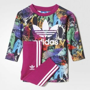 a81205672 Adidas Sport Suits Training Sportsyle For Girls - Pink