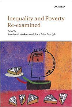 Inequality And Poverty Re-Examined Pb.