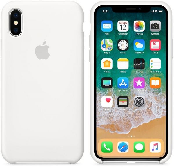 factory price 22f1e a2811 Apple iPhone X Silicone Case - white, MMWF2ZM/A The case is tightly closed  - make sure you are the first to open it
