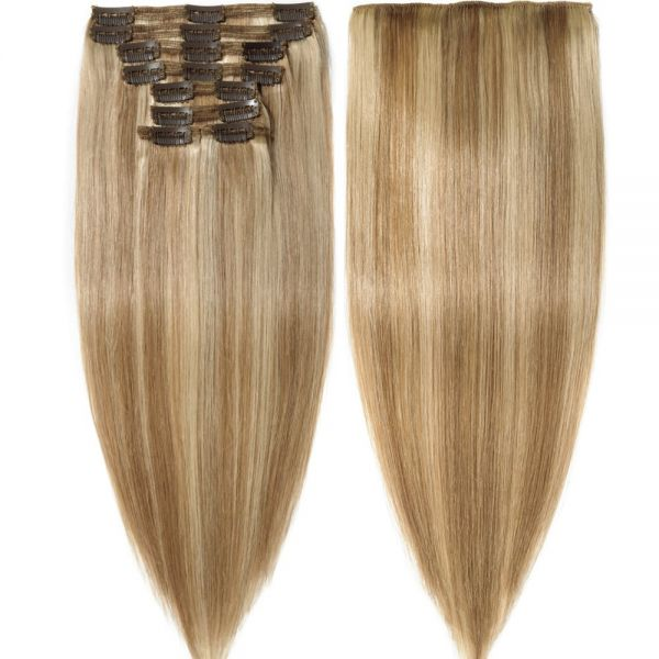 Buy S Noilite Clip In Human Hair Extensions 100 Real Remy Thick