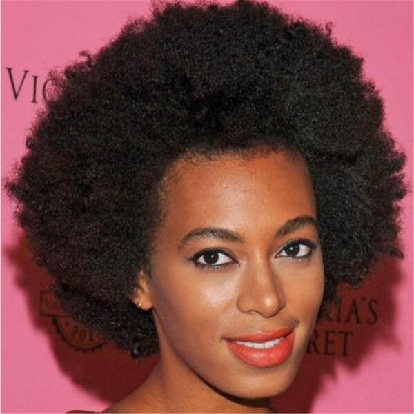Souq Afro Kinky Curly Human Hair Clip In Extensions Virgin