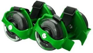 79dd0d090976 Hot Flash Roller Skate Shoes Scooter Flashing Wheels Toys for Kids -  Green-FHL