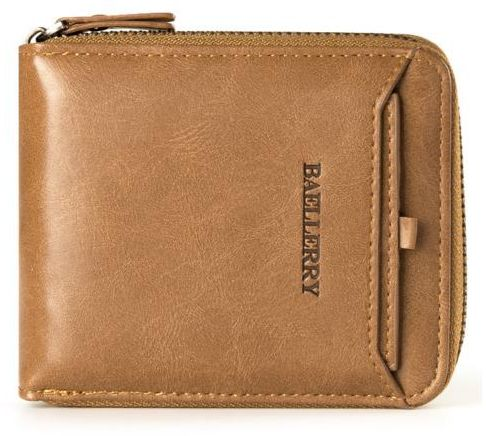 16ac4c23 Baellerry Light Brown Leather For Men - Zip Around Wallets