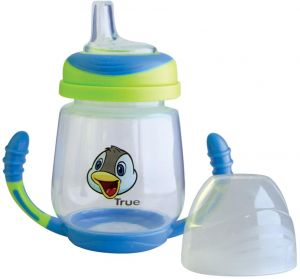 b2b1bf0b515 Training Cup - silicone spout( 6+)months 210ml - green and blue(BPA free)