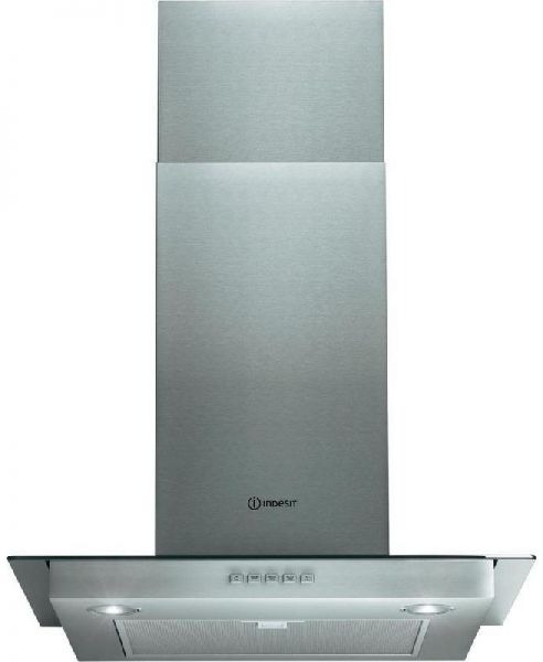 Westpoint 60 Cm Built In Chimney Hood, Stainless Steel U0026 Glass Decorative  Design With Metal Grease Filter